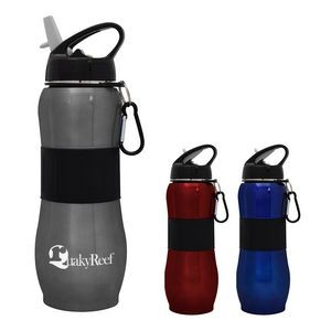 28 Oz. Sport Grip Stainless Steel Bottle